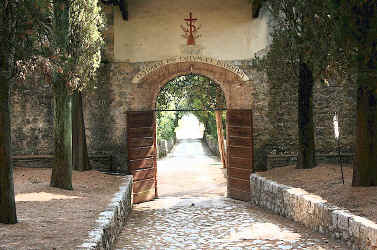 Monastery of Lecceto main door